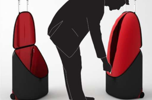 The ExtraLarge Suitcase Upsizes with the Opening of its Top #travel #suitcases trendhunter.com