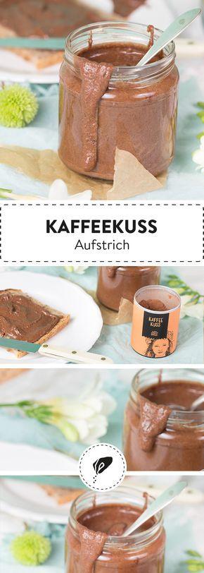 Deine gesunde Alternative zu Nutella: Unser cremiger Kaffeekuss Aufstrich. Ganz ohne schlechtes Gewissen genießen!