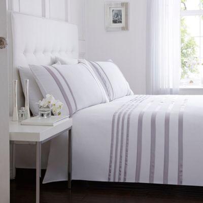 J by Jasper Conran Designer lilac 'Maison' bed linen- at Debenhams.com