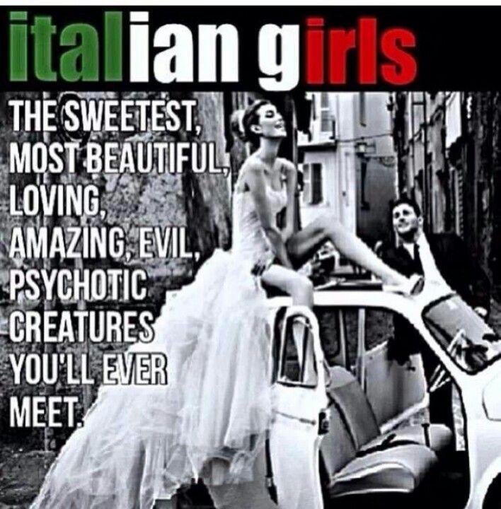 Dating an italian woman