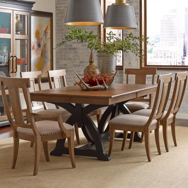 Stone Ridge 7 Pc Dining Set by Kincaid Furniture