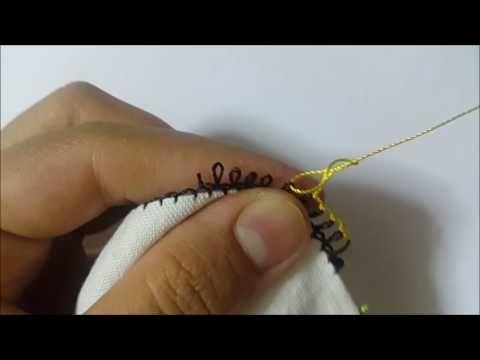 &&iğne oyası dersleri&&İğne Oyası Garı Dişi Yapımı Modeli ( DIY ) - YouTube