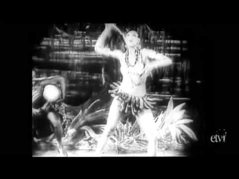 Josephine Baker - Clearest Close-Up Footage of her Famous Banana Dance