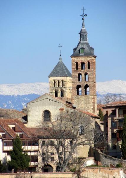 Torres de San Andrés y San Esteban - Campanarios románicos de Segovia