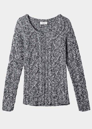 Toast cable knit jumper, £155