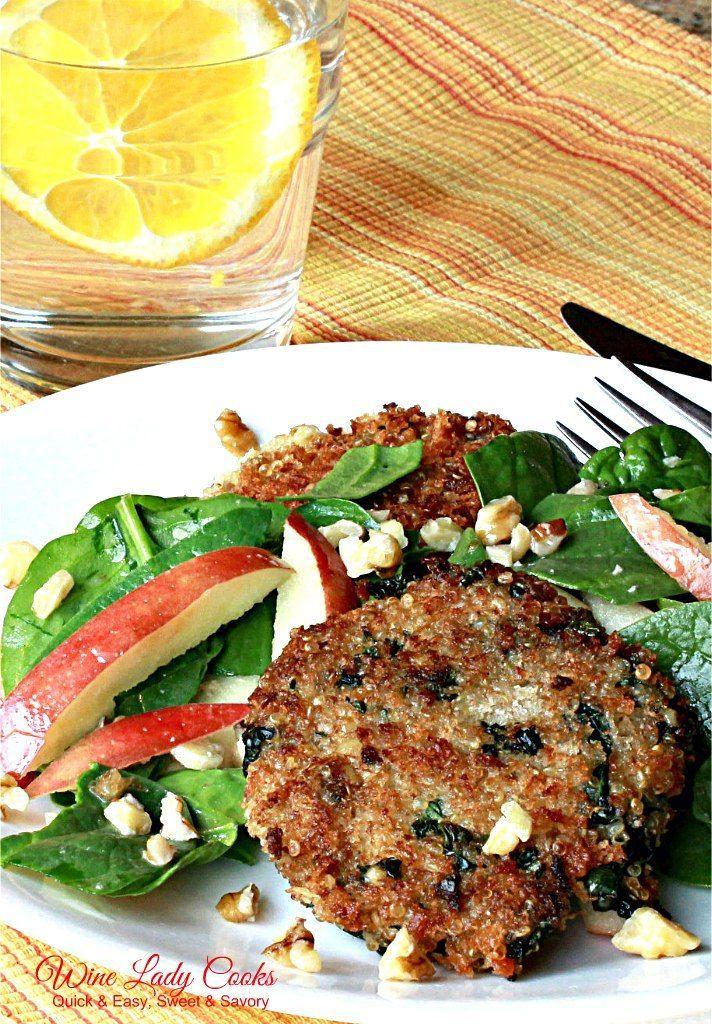 Air Fryer Vegetarian Quinoa Patties