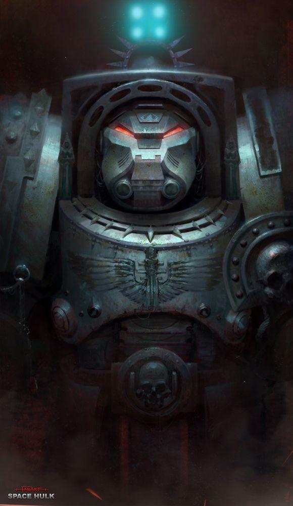 Space Hulk FanArt by piofoks on DeviantArt