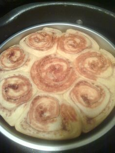 Stove Top Cinnamon Rolls (canned)