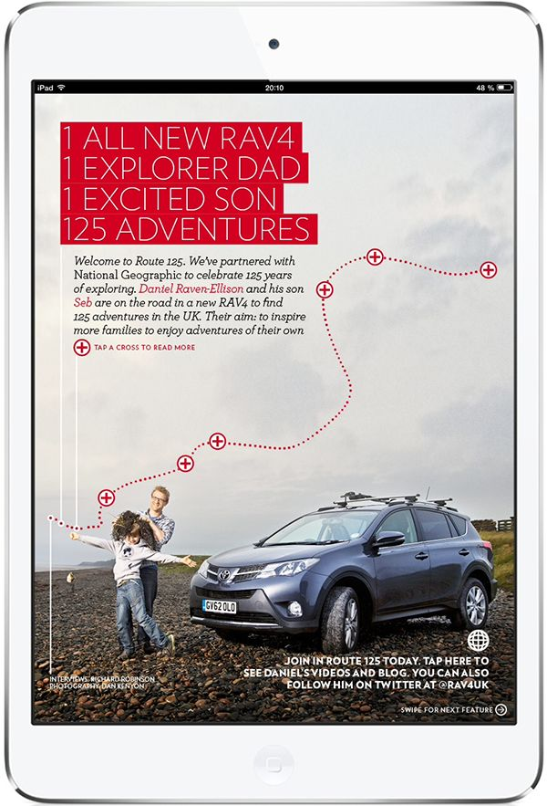 Toyota Magazine UK. More on www.magpla.net MagPlanet #TabletMagazine #DigitalMag