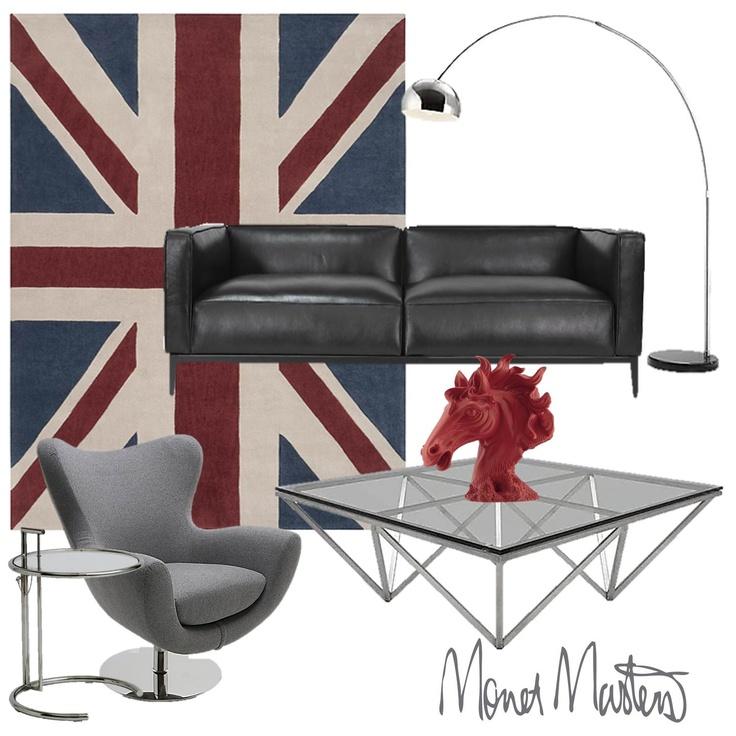 Mr. Bond #interiors #moodboard #contemporary #funiture