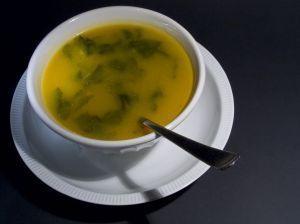 Rychlá krupicová polévka se špenátem - obrázek č. 1