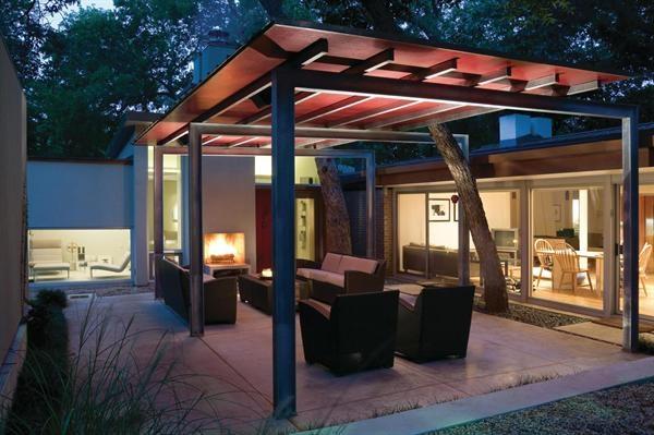 Modern Patio Carport : Best images about carport on pinterest timber posts