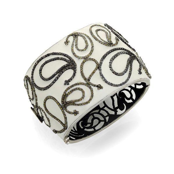 SILVER DIAMOND BRACELET: Silver Diamonds, Diamond Bracelets