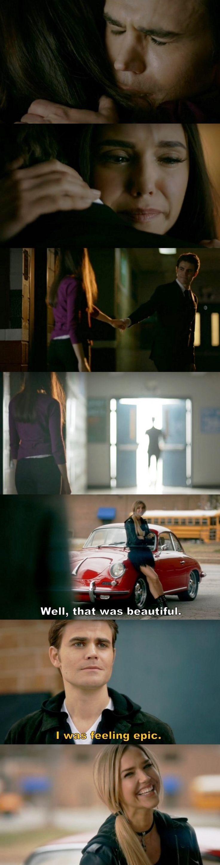 The Vampire Diaries TVD S08E16/Season finale - Elena, Stefan and Lexi