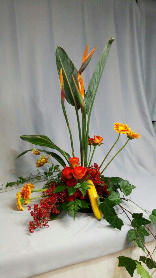 네덜란드 국가공인 꽃자격DFA과정 Triangle central point group 디자인 라로즈플라워