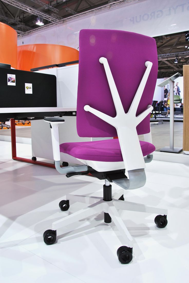 Nowy Styl Group at Orgatec: Modern Office and Facility'12 - 4ME chair designed by Martin Ballendat