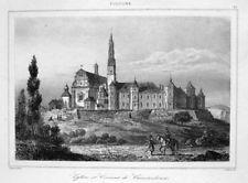 Jasna Góra Częstochowa Tschenstochau original 1840 Polen Polska Cestocova