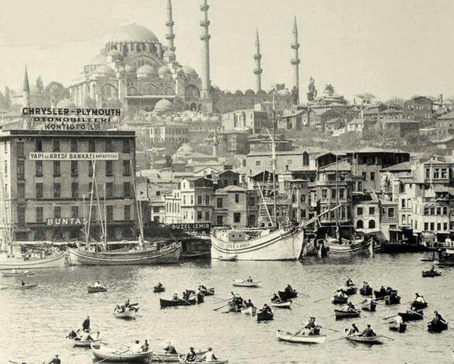 Eminönü Unkapanı sahili.1947-1952 arası.
