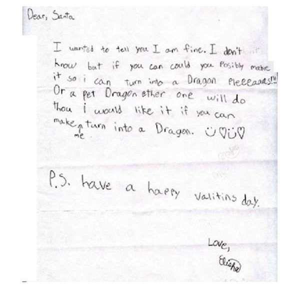 Funny Kids Letters To Santa  Joyenergizer  Lol