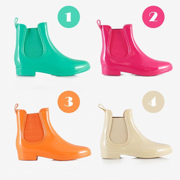 Kolorowe kalosze sztyblety - eleganckie i niezwykle modne -> http://bootsy.pl/10-kalosze