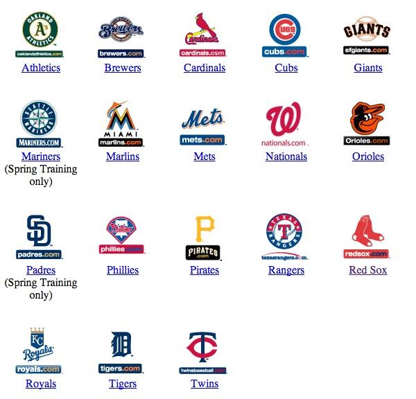 Логотипы бейсбольных команд. Ты не знаешь ни одной из этих команд, но какой лого привлекательнее всего? Мне вот кажется, что Красные Носки )