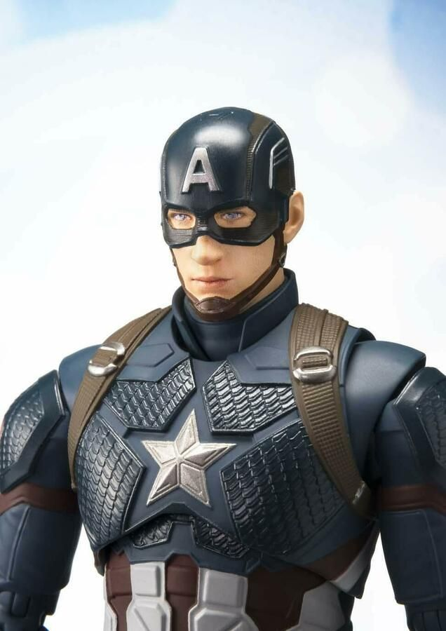 Bandai S.H.Figuarts Avengers Infinity War Captain America Figure JAPAN OFFICIAL