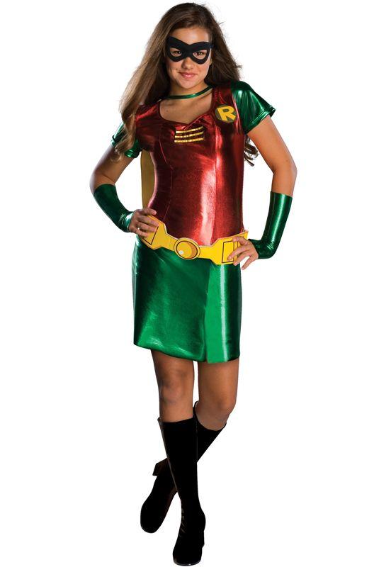 Robin Girl Tween Costume - Pure Costumes