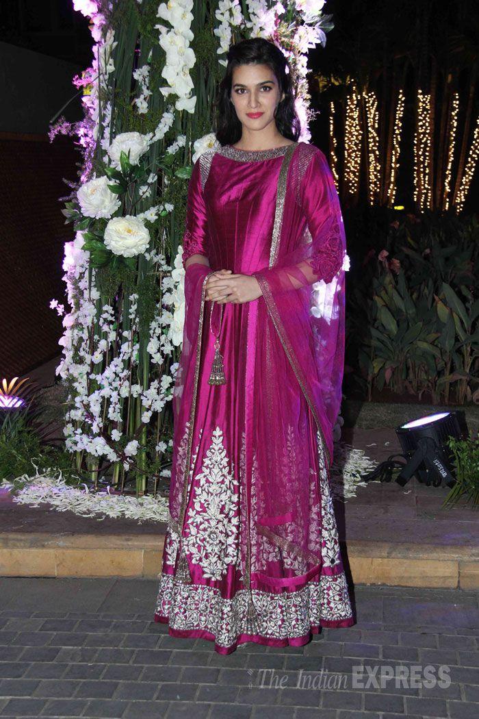 Kirti Sanon in manish Malhotra