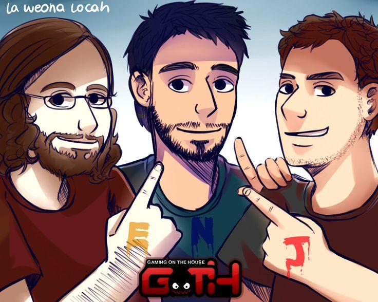 The rial GOTH - Edgar, Nico y Jaime | by La-weona-locah
