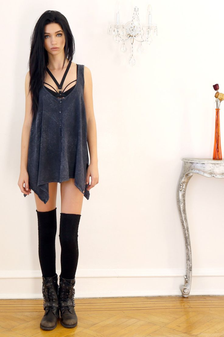Acid Mineral Washed Fit & Flair Cotton Tunic Tank by ToughLuvShop on Etsy https://www.etsy.com/listing/223004856/acid-mineral-washed-fit-flair-cotton