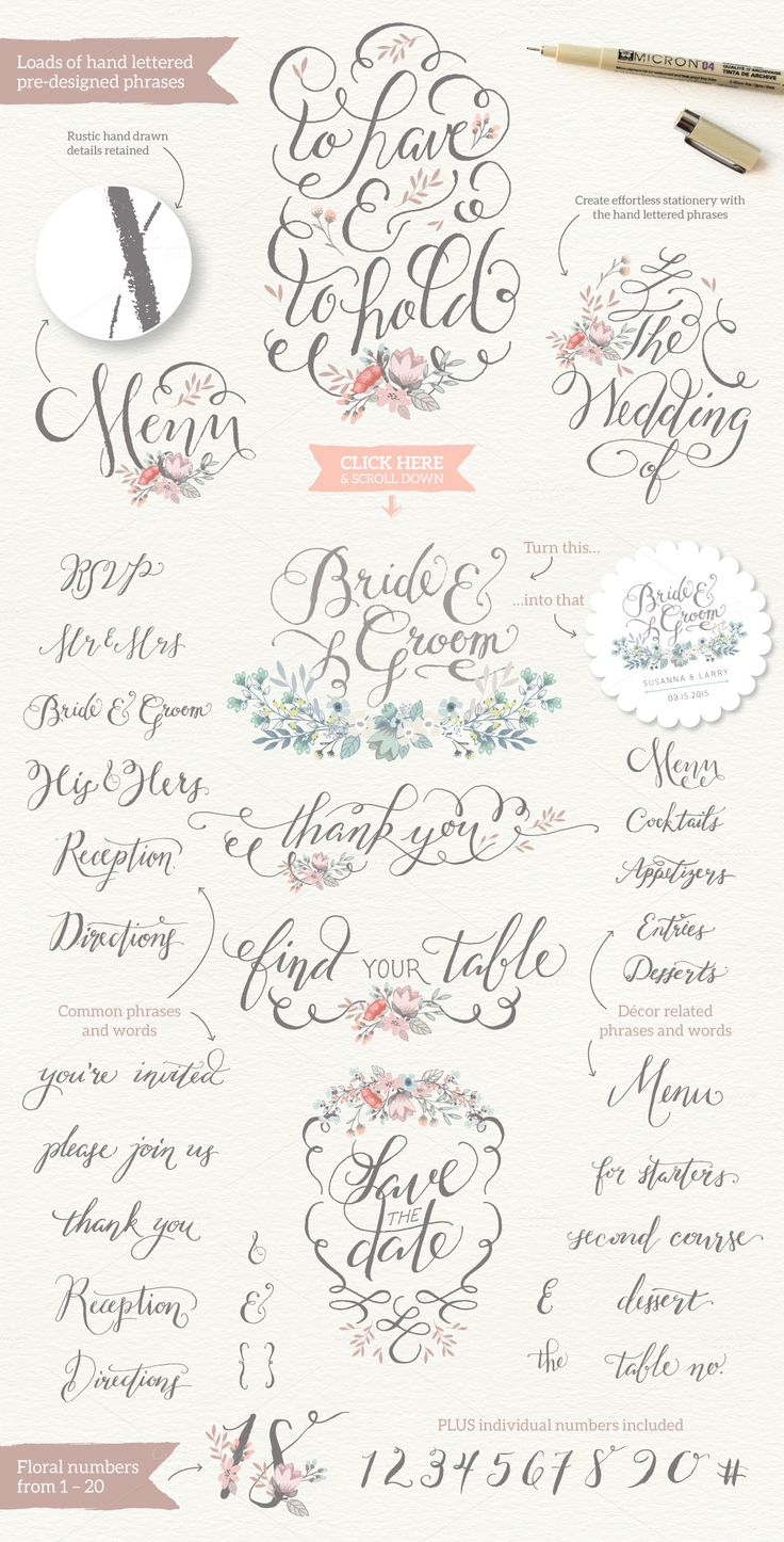 Really Rustic Vintage Wedding Kit by Lisa Glanz on @creativemarket