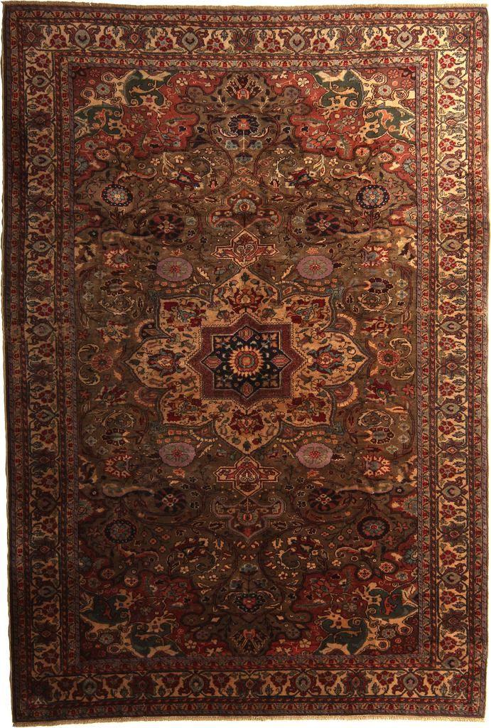 Kayseri 10064 Turkish Oriental Carpet 6 8 X 9 9 Green