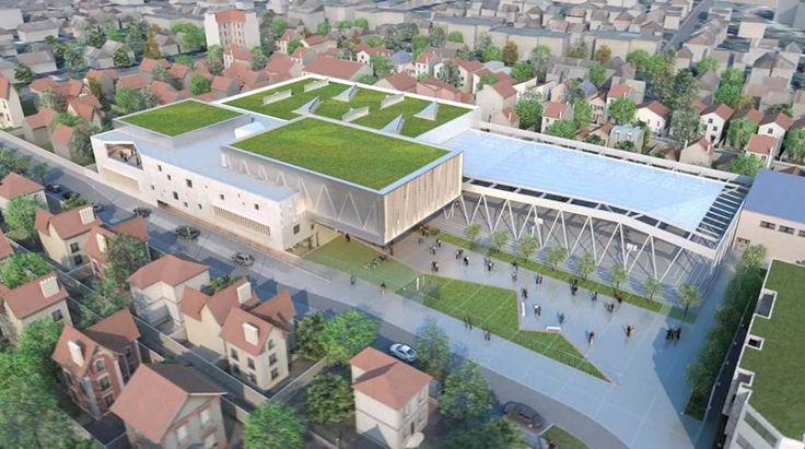 Complexe sportif Albert-Smirlian (Bois-Colombes - 92)