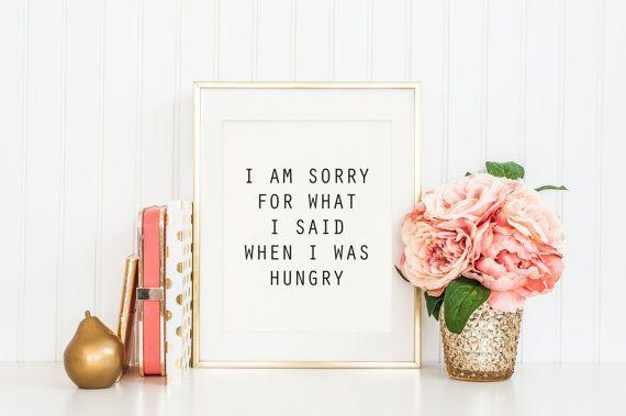 Je suis désolé pour ce que j