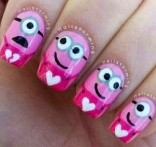 These nails are soooo cute!