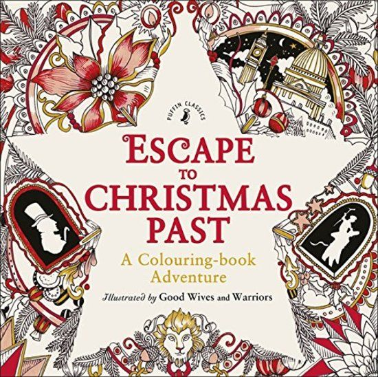 Escape To Christmas Past Paperback A Colouring Book Filled With Detailed Line Artwork That Brings Life Carol In Unique Way
