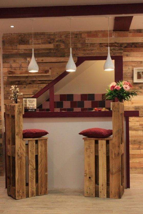 5 ideas de sillas de bar de palets | I Love Palets