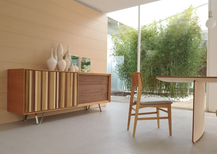 SIPARIO Sideboard with sliding doors by Morelato design Centro Ricerche MAAM