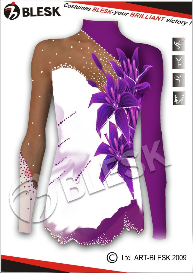 Leotards for Rhythmic Gymnastics :: Art-studio «Blesk»