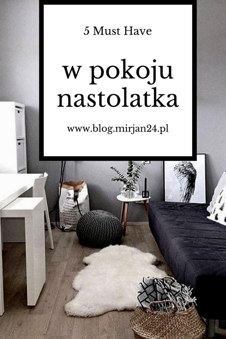 5 rzeczy, które nastolatek chce mieć w swoim pokoju  - Nowy wpis na blogu #Teenager #room #diy #mirjan24