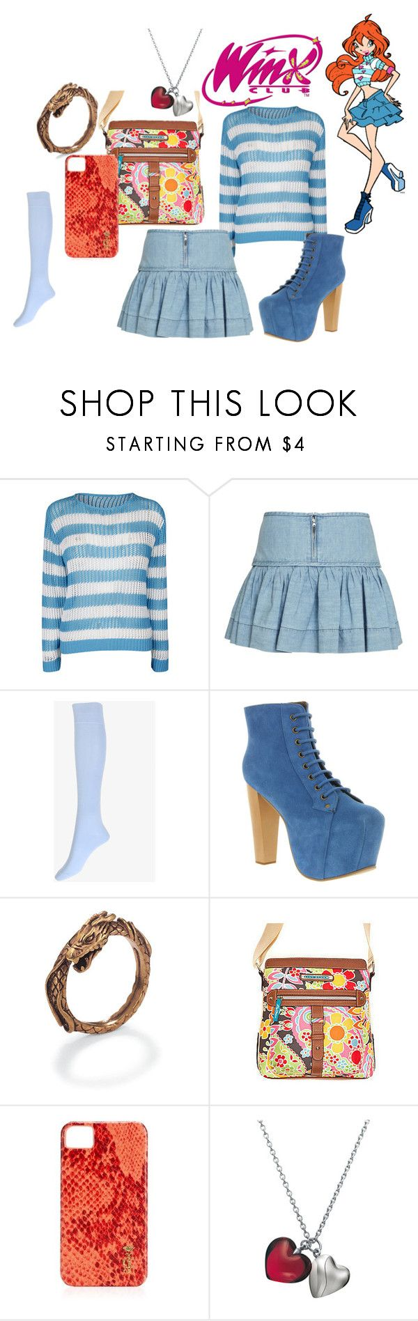 """""""Bloom - Winx Club"""" by brittany-coughlin ❤ liked on Polyvore featuring Étoile Isabel Marant, Forever 21, Jeffrey Campbell, Lily Bloom, Juicy Couture and Baccarat"""