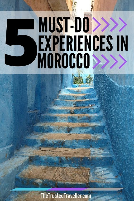 Seek the Blues in Chefchaouen - 5 Must-Do Experiences in Morocco - The Trusted Traveller