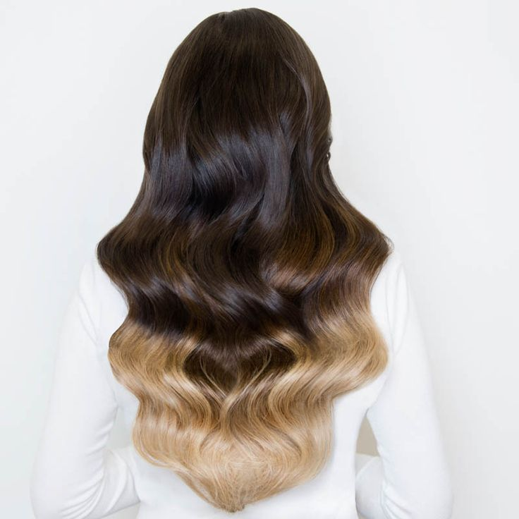 Milk + Blush Hair Extensions: 20-22″ Deluxe Set in the shade Oh My Ombre