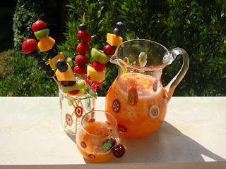 La mia cucina persiana: Paloodeh - il frullato di melone all'acqua di rose...