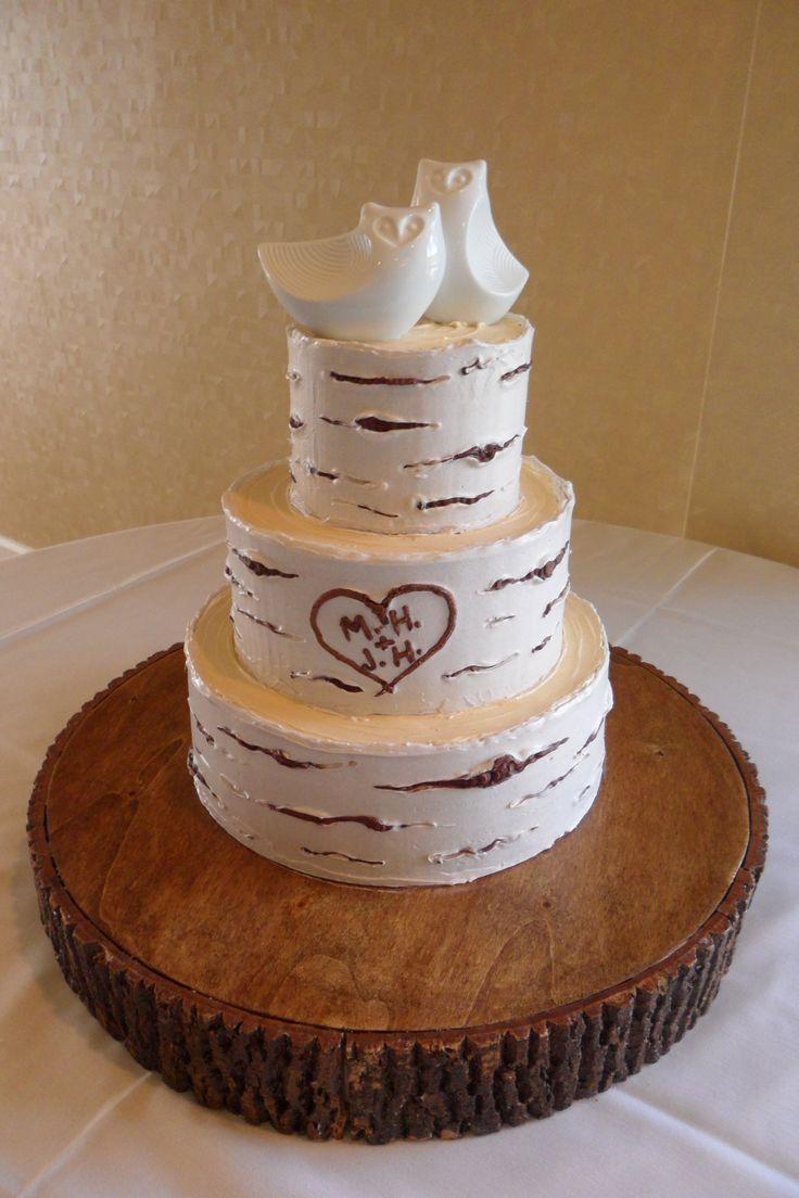 Icing A Wedding Cake With Ganache