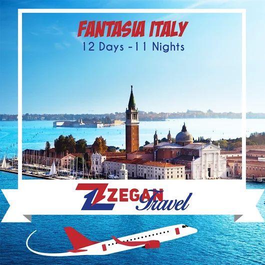 Fantasia Italy (11 Nights 12 Days) *Rome - Assisi - Siena -Florence - Bologna - Padua - Venice -Tuscany Wine Region (Montepulciano) - Rome - Naples- Pompeii - Sorrento - Capri - Rome * Airport Transfers * Guided Daily Tours  Contact us now info@zegantravel.com http://www.zegantravel.com/Fantasia-Italy-12-Days #italy #pompeii #rome #assisi #siena #florence #bologna #padua #venice #tuscany #naples #sorrento #capri