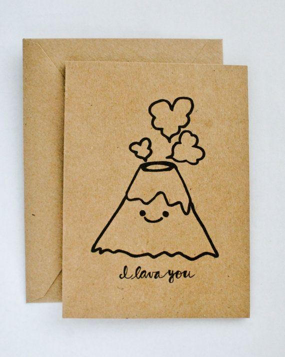 Маленькая милая открытка своими руками, хаски днем