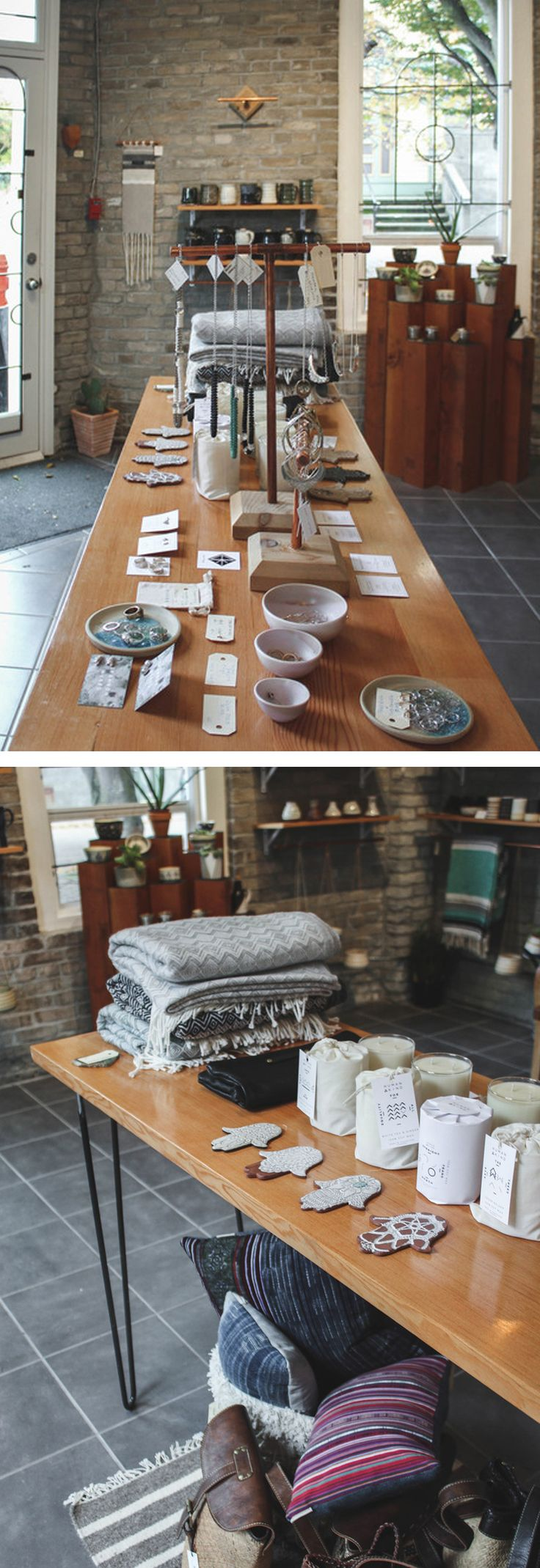 Picot Collective is a cozy brick and mortar shop in Victoria, BC full of a curated collection of handcrafted, artisan goods, gifts, and treasures