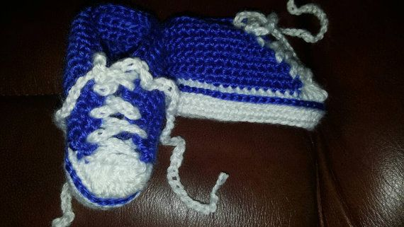 Hey, I found this really awesome Etsy listing at https://www.etsy.com/ca/listing/273960032/royal-blue-crochet-baby-converse