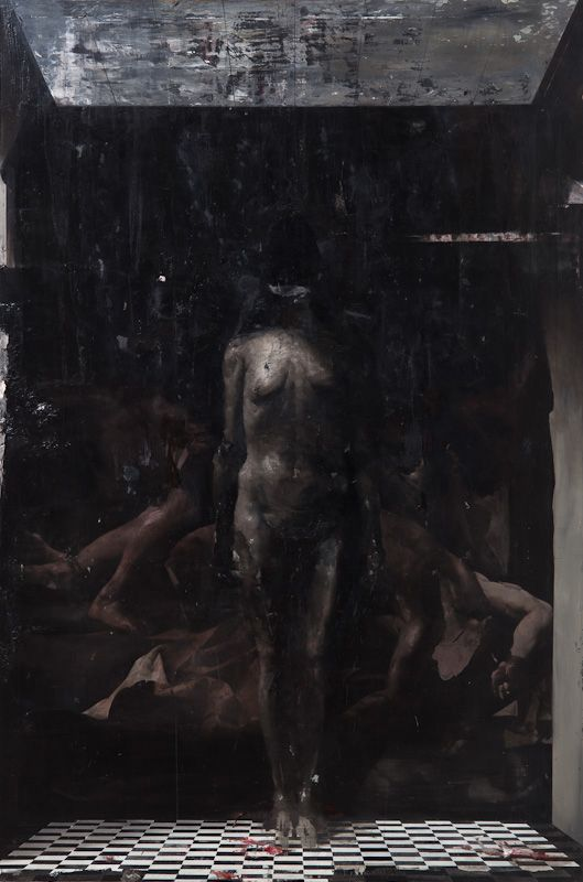 Nicola Samori Simultaneously embracing and rejecting his famous countrymen of old, Nicola Samori playfully mocks the proreption of time, with death, disorder, and decay harnessed and set to baroquely...